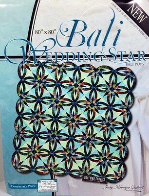 Judy Niemeyer BALI WEDDING STAR Foundation Paper Pieced Quilt Pattern