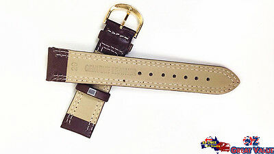 2 Sets 20mm Unisex Leather Watch Band Strap