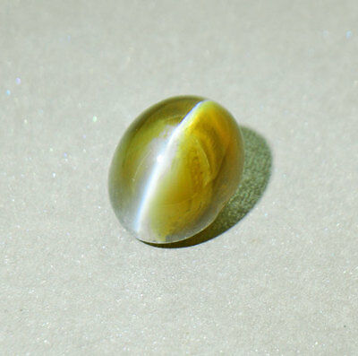Unheated / Untreated Alexandrite Silver Ray Cat's Eye 3.37 ct. Certified (00355)