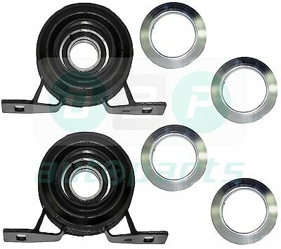 FOR LAND ROVER FREELANDER NEW CENTRE PROPSHAFT BEARINGS x2 - TOQ000040