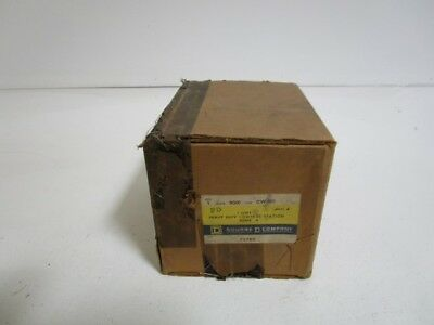 Square D Switch 9001-Gw-101 Sr. A *factory Sealed*
