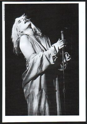 1991 Blondie Debbie Harry JAPAN mag photo pinup / mini poster / clipping 08r
