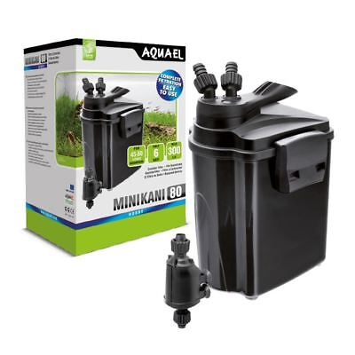 Aquael Minikani Mini Kani 80 Aquarium Canister External Filter (80 Litre)