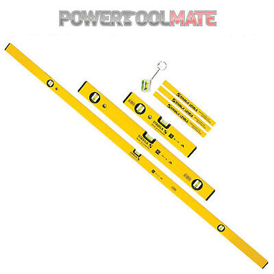 Stabila 70-2 STB702COMBI 3 piece combi level set 180cm 60cm 30cm and pencils