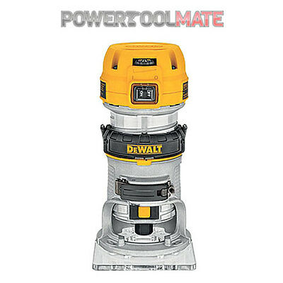 "Dewalt D26200 8mm (1/4"") Compact Router 900W 8mm ( 1/4"" ) Compact Router 110V"