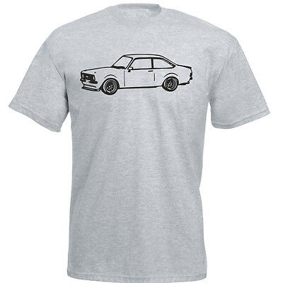 CHOOSE FROM 6 COLOURS S-XXXL RETRO FORD ESCORT RS COSWORTH INSPIRED T-SHIRT