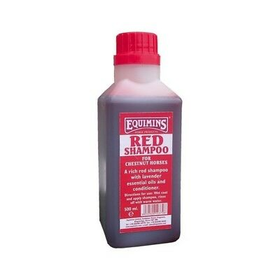 Equimins Red Shampoo For Chestnuts - Horse Shampoo