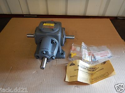 NEW Boston Gear Right Angle Bevel Worm Gear Speed Reducer 3.885 HP 2:1 Ratio New