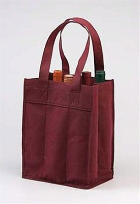 Reuseable 6 Bottles Of Wine Tote Bag Great Quality
