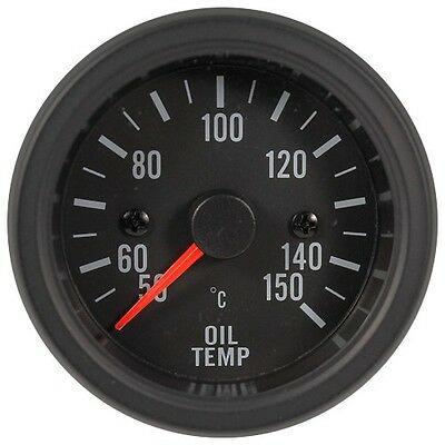 52mm LED Backlight Electrical Oil Temp Gauge