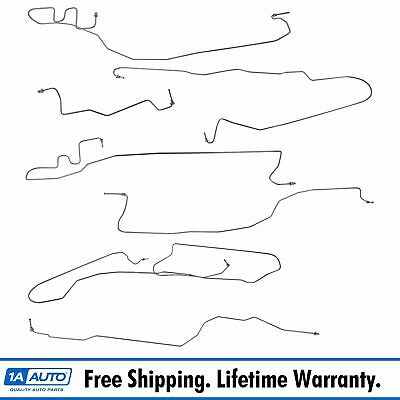 Stainless Steel Brake Line Kit Set for Chevy GMC 1500 Standard Cab 4WD 6-1/2 Bed