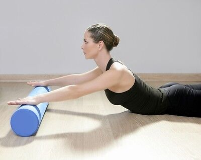 Yoga Pilates Fitness Excercise Gym Floating Point EVA Workout Foam Roll Massage