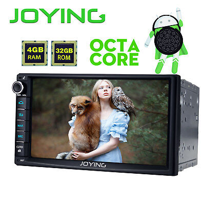 """Pure Android 6.0 7"""" HD Double 2Din Car Stereo 4G Wifi GPS DAB+ Nav Radio Cam"""