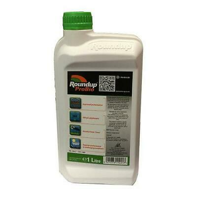 Roundup Pro Bio 1 Litre Weedkiller  Professional Strong Glyphosate Weedkiller