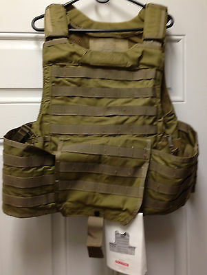 Bae Systems Sds Rbav Releasable Body Armor Vest Plate Carrier X-Large New