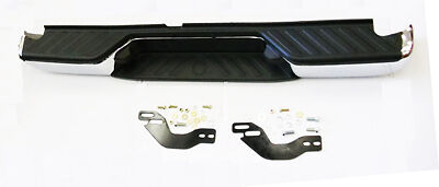 Fits Nissan Navara D40 Rear Chrome Plated Bumper With Brackets 5/05 ON *SPECIAL*