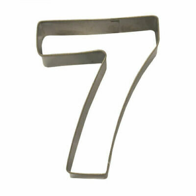 Eddingtons Stainless Steel Pastry & Cookie Cutters Numbers 0 1 2 3 4 5 6 7 8 9