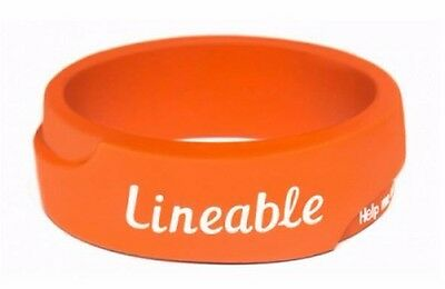 Lineable Smart Wrist Band Orange Child Lost Protection Kids Safety Pre School