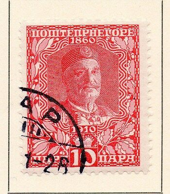 Montenegro 1919 Early Issue Fine Used 10p. 146822