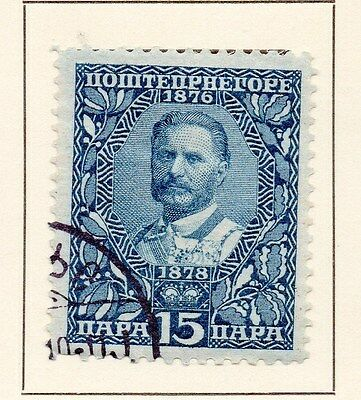 Montenegro 1919 Early Issue Fine Used 15p. 146823