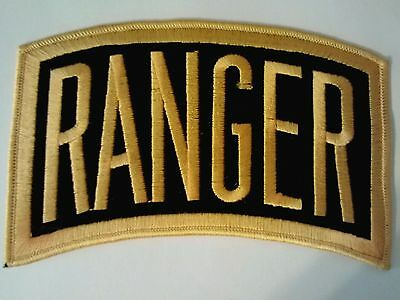"Ranger Large Tab Patch    6"" x 3 1/2"""