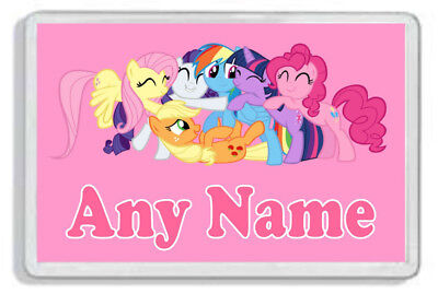 Personalised My Little Pony Fridge Magnet - Add any name! *Great Gift!*