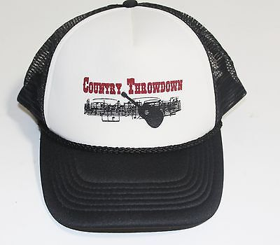 Country Throw Down Mesh Trucker Snapback Hat  New Without Tags