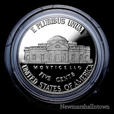 2015 S Jefferson Nickel ~ Mint Proof Coin in Original Plastic Capsule from Set