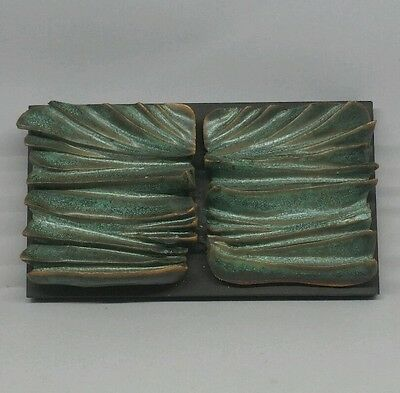 Studio art pottery wall hanging by margaret guy brodbeck - lot a1a