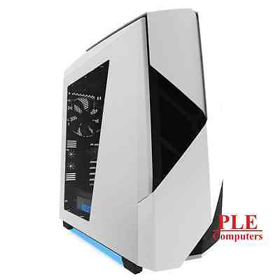 NZXT Noctis 450 White Mid Tower Case w/ Side Panel Window[CA-N450W-W1]