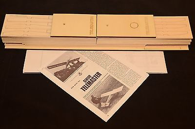 "Super Trainer Senior TELEMASTER Laser Cut Short Kit, Plans & Instruction 95"" ws."