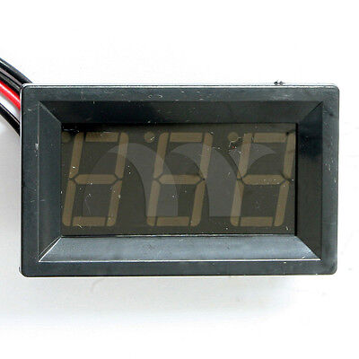 "0.56"" Blue LED Digital Thermometer DC Panel Meter -50°c~+110°c Temperature Meter"