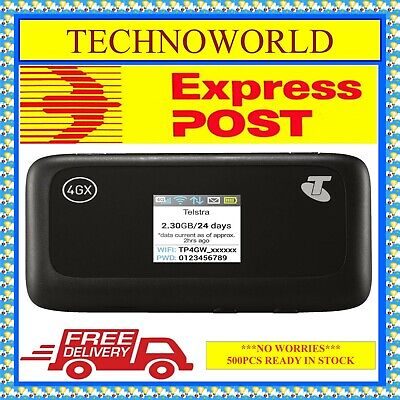 Unlocked Zte Mf910 4G Wifi Modem+Use With Optus/aldi/tpg/vodafone/virgin/amaysim