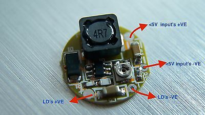 445nm-450nm-465nm Blue laser diode Driver/1.8A output for 2W blue laser diode