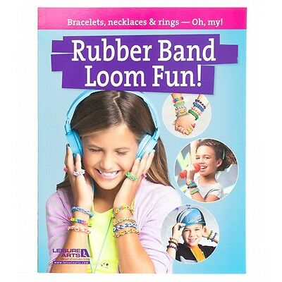 Rubber Band Loom Fun Jewellery Making Book With Step by Step Guides (A24/1)