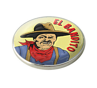Asbri El Bandito Golf Ball Marker