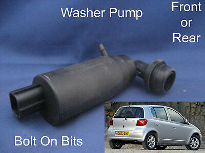 Front OR Rear Windscreen Washer Pump Toyota Yaris 2001 to 2005 French models