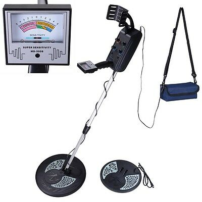 MD5008 Underground Metal Detector Gold Sensitive Search Digger 10ft Detection