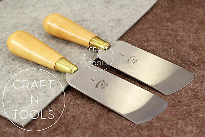 New Vergez Blanchard Oblique Skiving/Paring Knife (leather cutting skiver tool)