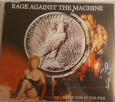 Rage Against The Machine:sleep Now In The Fire Cd Singolo Sigillato