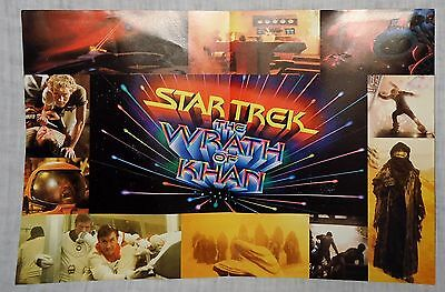 Star Trek II The Wrath of Khan Fold-Out Poster At end of universe lies vengeance