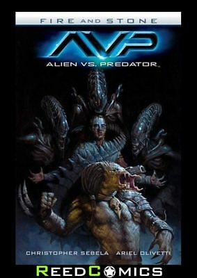 ALIEN VS PREDATOR FIRE AND STONE GRAPHIC NOVEL New Paperback Collects #1-4