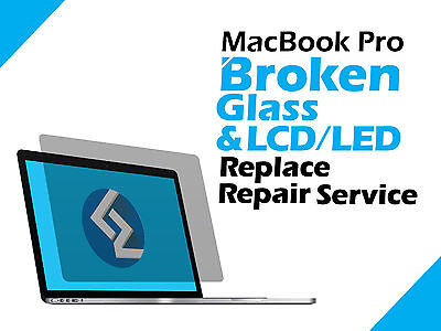 MacBook Pro A1502 Retina Cracked LCD LED Screen Display Replace Repair Service