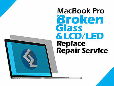 MacBook Pro A1398 Retina Cracked LCD LED Screen Display Replace Repair Service