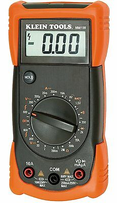 Klein Tools MM300 Manual Ranging Multimeter (Replacement for MM100)