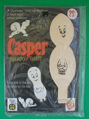 Casper The Friendly Ghost 1960's Horror Toss-Up Balloon Moc Sealed U-Control