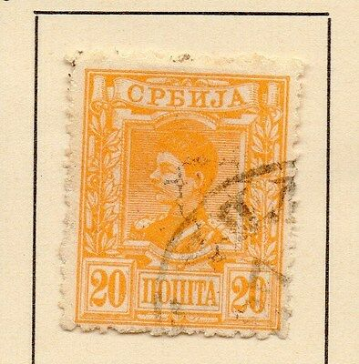 Serbia 1890 Early Issue Fine Used 20p. 147528