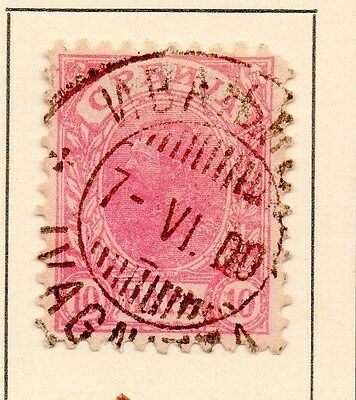 Serbia 1894 Early Issue Fine Used 10p. 147532