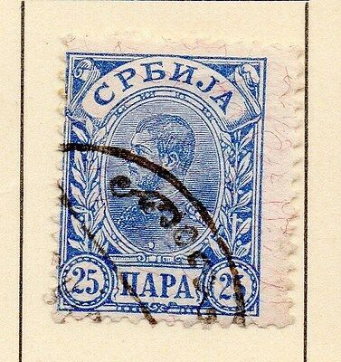Serbia 1894 Early Issue Fine Used 25p. 147535