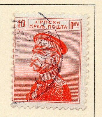 Serbia 1913 Early Issue Fine Used 10p. 147580